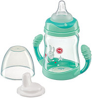 Поильник Happy Baby Feeding Cup с ручками 210 мл Mint