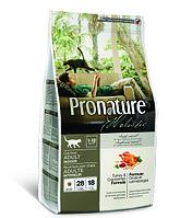Pronature Holistic Adult Indoor - для домашних кошек, индейка с клюквой 2.72 кг., фото 1