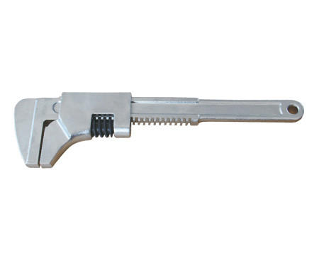 Ключ трубный с гладкими губками (автомобильный) стальной  280х78 мм