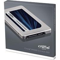 "Накопитель SSD Crucial MX300 275GB CT275MX300SSD1 SATA 2.5"" 7mm (with 9.5mm adapter) 530 MB/s Read, 500 MB/s Write"