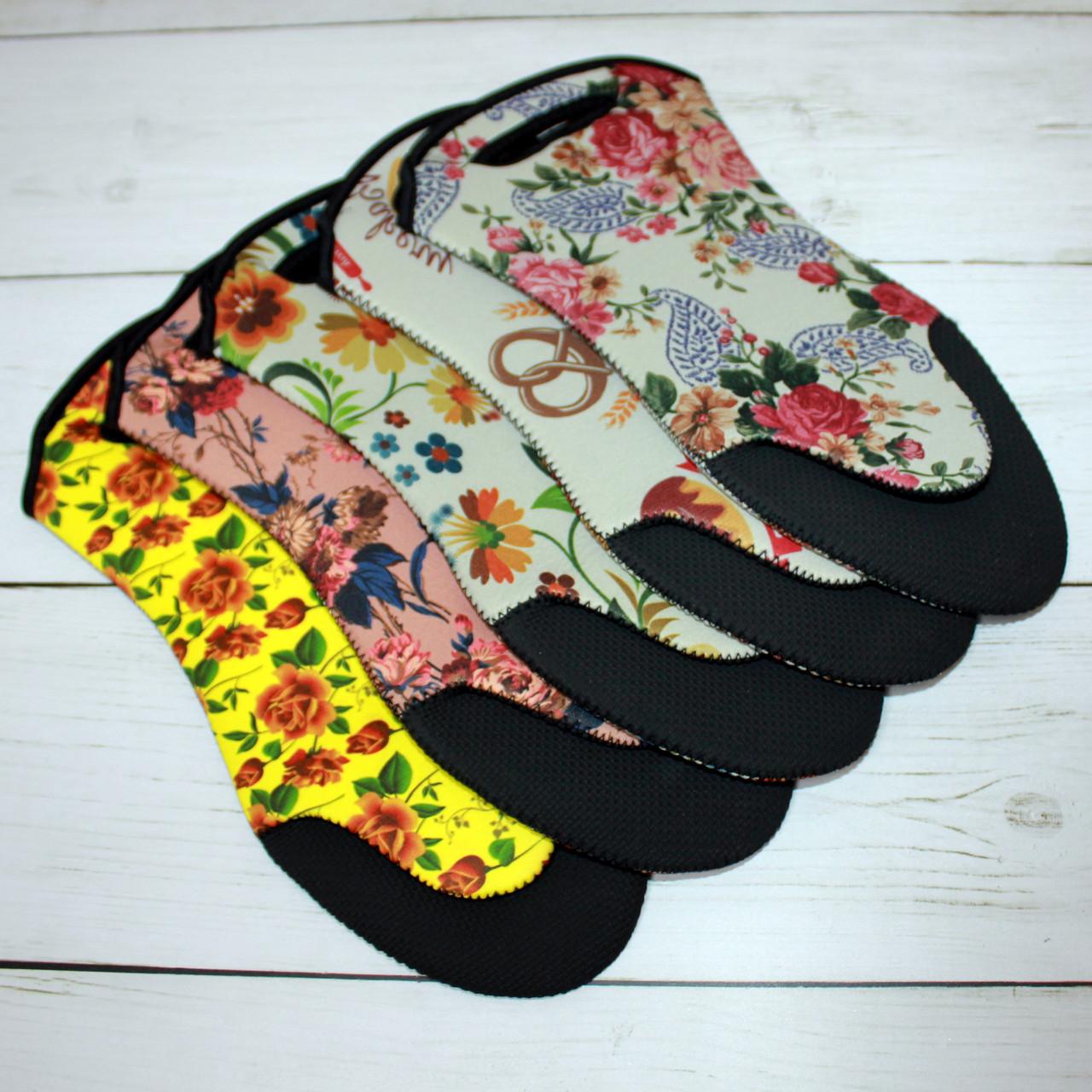 Кухонные перчатки с принтом