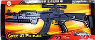 Автомат пластиковый J-Star Special Forces 8015 черный, световые и звуковые эффекты, фото 1