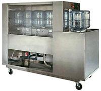 Полуавтоматическое оборудование для Мойки оборотных 10 - 25 литровых бутылей