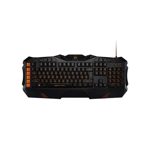 Клавиатура CANYON CND-SKB3-RU Wired multimedia gaming keyboard with lighting effect Marco setting fu, фото 2