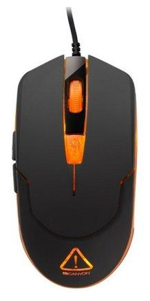 Мышь CANYON CND-SGM1 Optical gaming mouse adjustable DPI setting 800/1200/1600/2400 LED backlight Bl