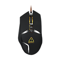 Мышь CANYON CND-SGM4E Wired gaming mouse programmable Sunplus 189E2 IC sensor DPI up to 4800 adjusta
