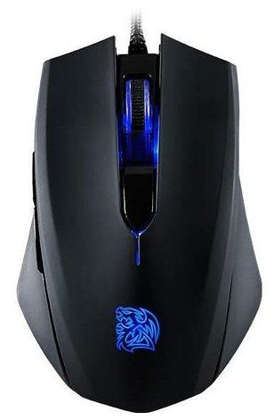 Мышь Thermaltake TALON Blu/Wired/Optical/Omron/Black/Color Box, MO-TLB-WDOOBK-01	, фото 2