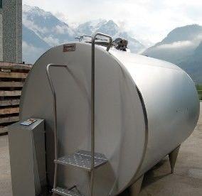 Охладитель молока закрытого типа Cold Vessel 3000 л, фото 2