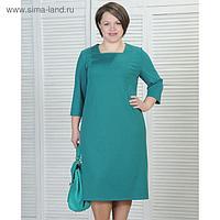 Платье женское 6003 цвет зеленый, р-р 52