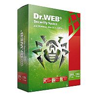 Антивирус Drweb Security Space  PRO на 2ПК Box