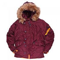 Куртка Аляска N3B HUSKY II MAROON ORANGE, фото 1