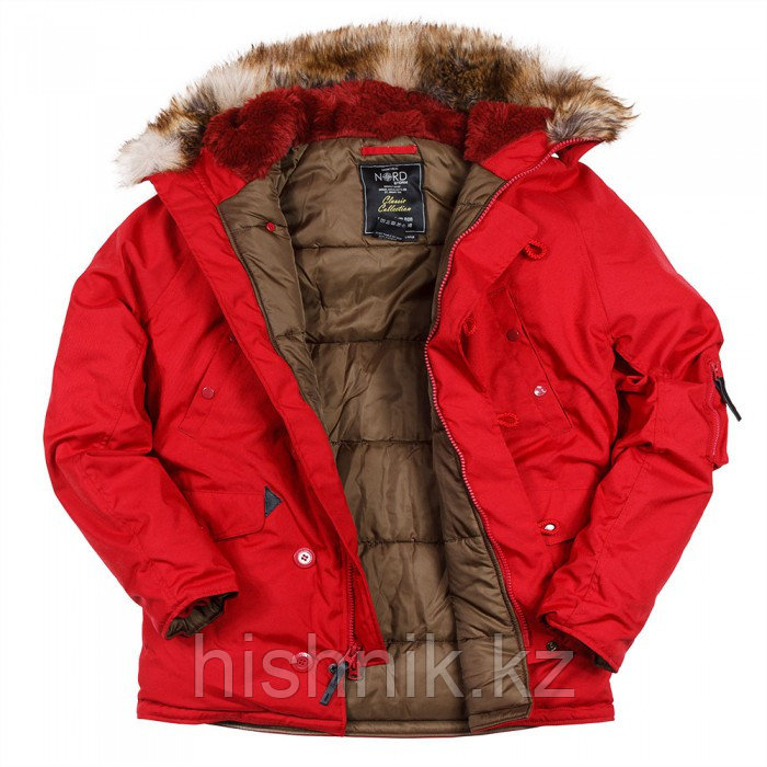 Куртка Аляска N3B OXFORD JESTER RED
