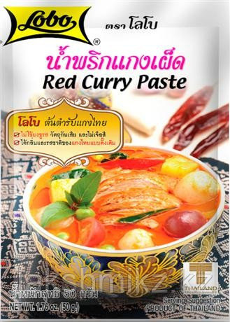Красная паста карри Red Curry Paste 50 гр
