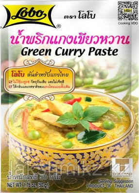 Зеленая паста карри Green Curry Paste