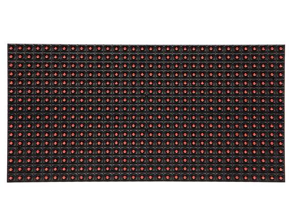 LED светодиодный модуль DIP,  P10,Красный, фото 2
