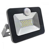 S-441-LED-FL-20-6K Светодиодный прожектор с датчиком движения