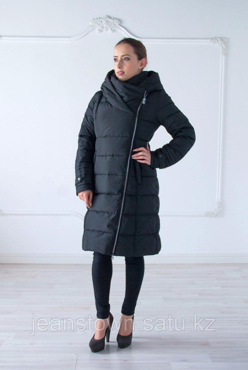 Пуховик женский зимний Snowimage, черный