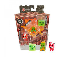 Minecraft Mini Figures Netherrack Series Mooshroom Zombie in Flames (миникрафт)