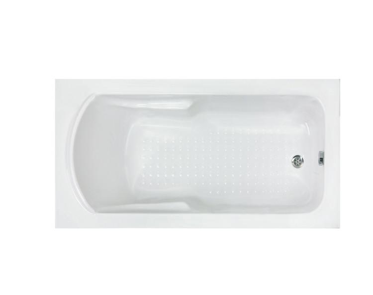Ванна акриловая Formina MINERVA 120x70 см, с ножками, с фронтальной панелью
