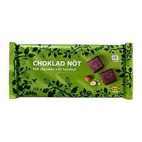 CHOKLAD NÖT Шоколад с орехами, Сертификат UTZ
