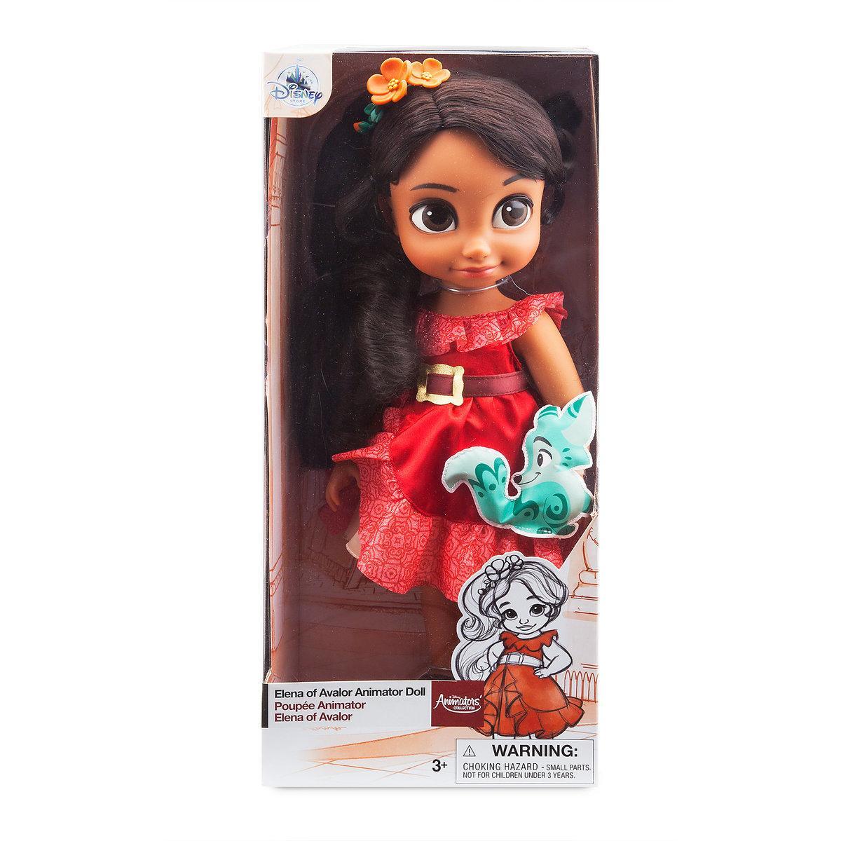 Кукла Елена из Авалора в детстве