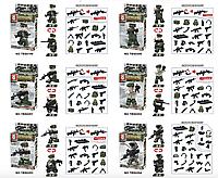 """Конструктор """"Солдат"""" TBS99-04   ( 6 мини-фигурок)"""