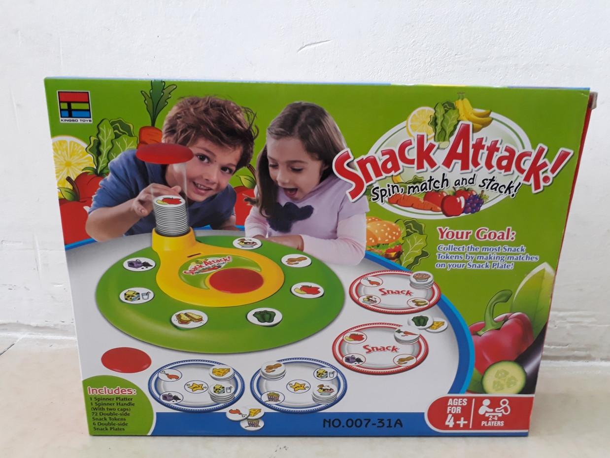 Настольная игра Snack Attack (Поймай быстрее)