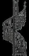 Лестница чугунная Амьен