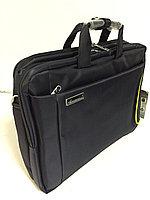 Портфель/рюкзак с отделом под 17 дюйм ноутбук. Высота 32 см, длина 44 см, ширина 10 см.