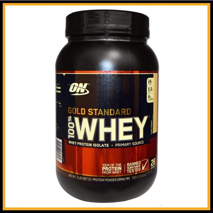 ON Whey gold standard 909гр (Банановый)