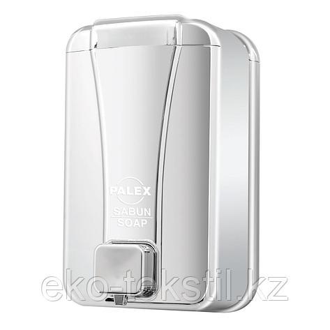 Диспенсер для жидкого мыла 1000 мл, Хром , фото 2