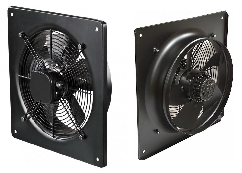 Вентилятор осевой с панелью YWF(K)4E350-ZF