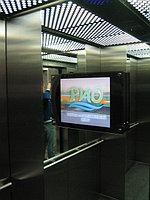 Реклама на мониторах в лифтах Астана