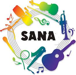 Объявление с музыкальной подложкой на «Радио SANA» в г.  Рудный