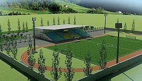 Проектирование футбольных полей