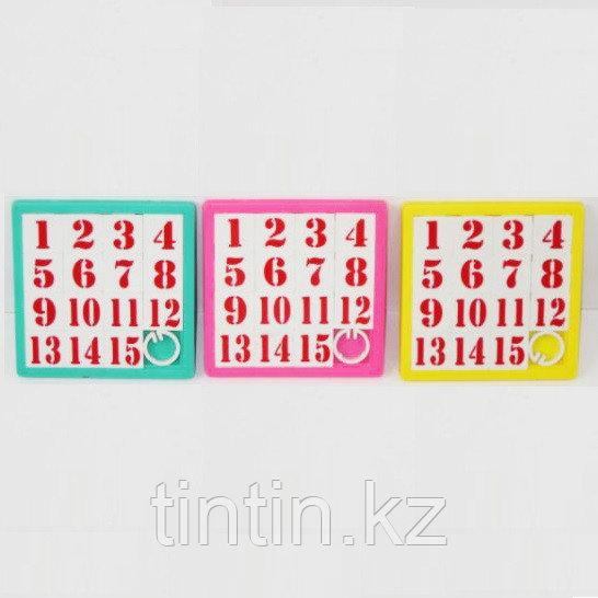 Настольная игра - Пятнашки (8х8см)