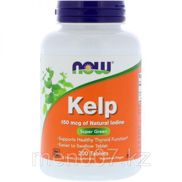 БАД Бурая водоросль kelp (йод) (200 таблеток)
