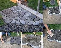 Форма-трафарет для садовых дорожек 43.5 х 43.5 см, фото 3