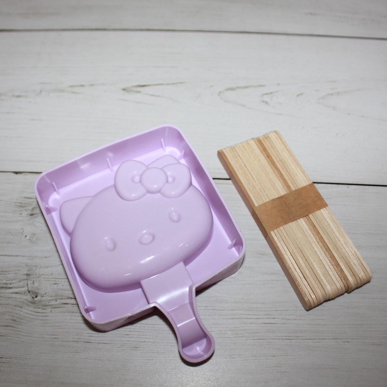 """Силиконовая формочка для мороженого """"Hello Kitty"""""""