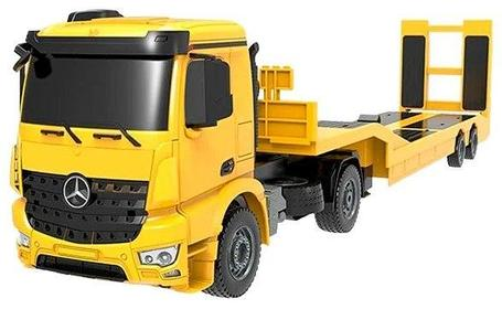 Радиоуправляемый автовоз Mercedez-Benz Arocs Flat Bed Trailer MZ 1:20 - E562-003 Double Eagle , фото 2