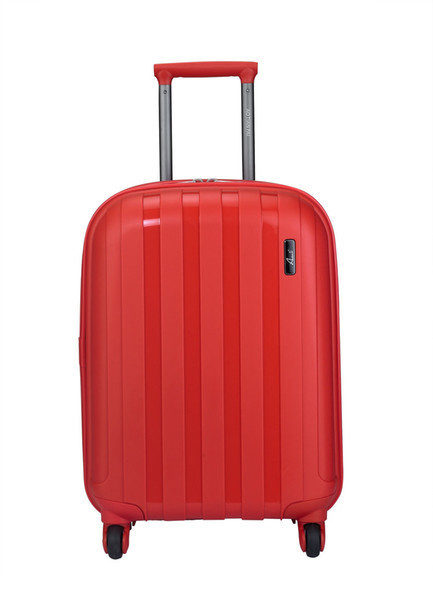"""Дорожный большой пластиковый чемодан """" Aotian """" красный"""