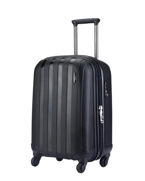 """Пластиковый чемодан средний"""" Aotian """" черного цвета"""