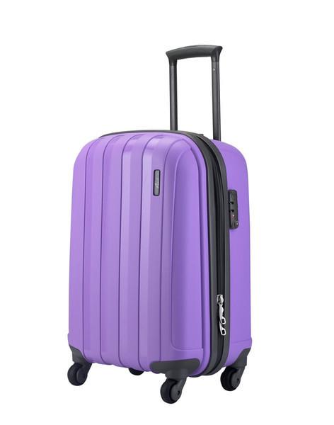 """Фиолетовый дорожный большой пластиковый чемодан """" Aotian """""""