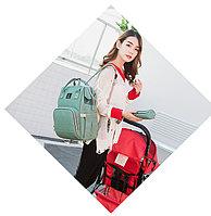 Сумка-рюкзак для мам с USB+ в подарок Power bank  АКЦИЯ!!!