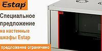 """Настенный односекционный шкаф, 19"""" 600 х 600 мм, 7U, серии Ecoline"""
