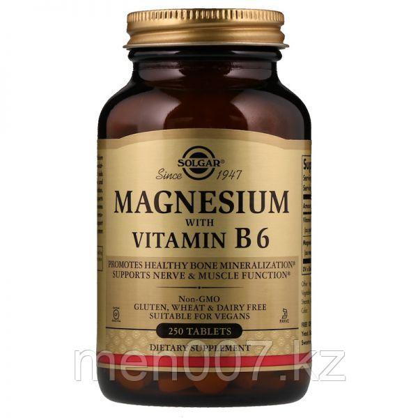 БАД Магний, с витамином В6 (250 таблеток)
