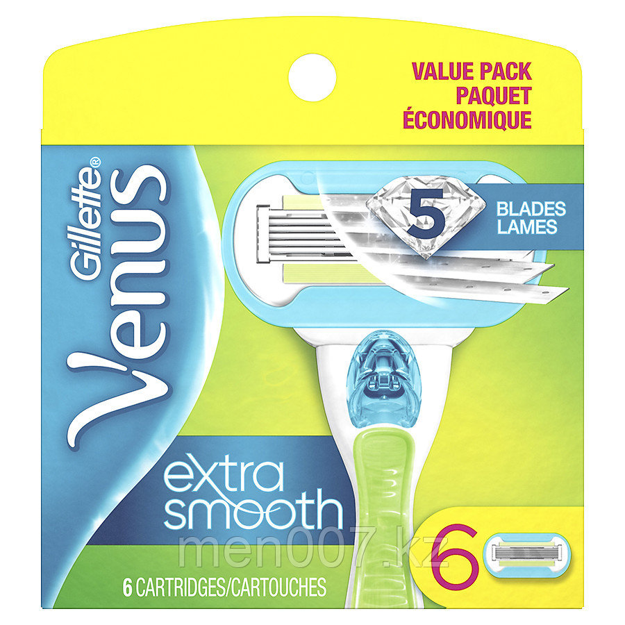 Gillette Venus Extra Smooth (6 кассет) США