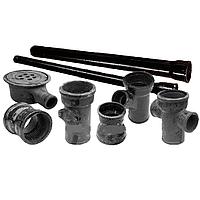 Труба чугунная напорная из ВЧШГ д.100мм, трубы канализационные, канализационная труба