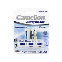 Аккумулятор CAMELION AlwaysReady Rechargeable Ni-MH NH-AA2300ARBP2