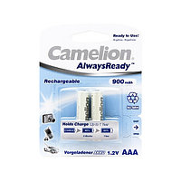 Аккумулятор CAMELION AlwaysReady Rechargeable Ni-MH NH-AAA900ARBP2